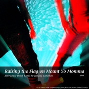 Raising the Flag on Mount Yo Momma