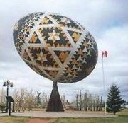 The Tenyaka Memorial of Vegreville