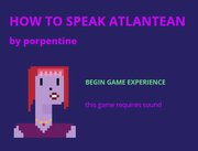 How to speak Atlantean