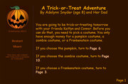 A Trick-or-Treat Adventure