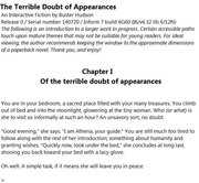 The Terrible Doubt of Appearances