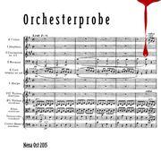 Orchesterprobe von Nena Ost