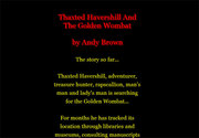 Thaxted Havershill And The Golden Wombat