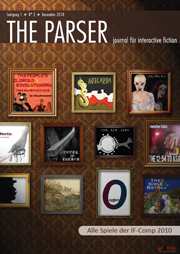 The Parser N° 2 - Journal für Interactive Fiction